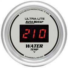 AutoMeter 6537 Ultra-Lite Digital Water Temperature 0-300 Deg. Gauge 2-1/16""