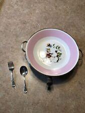 Vintage Silverplate Baby Dish Warmer
