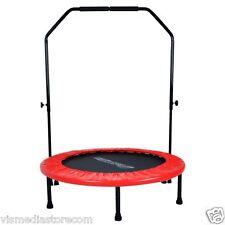 Urban Rebounder with Stabilizing Bar 40'' Home Gym Fitness Trampolene Trampoline