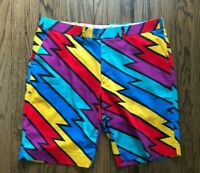 Loudmouth Mens Cotton Golf Shorts Size 42 11'