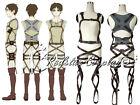 Attack on Titan Shingeki no Kyojin New Belts and harness Cosplay Straps  Skirt