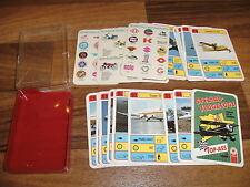QUARTETT:   TOP ASS:   SPEZIAL FLUGZEUGE // mit 3 Extra Karten
