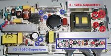 Repair Kit, LG 32LC2d, LCD TV, Capacitors