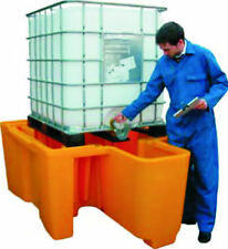 IBC Oil Chemical Bunded Drip Sump Spill Pallet: inc VAT