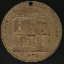 More details for 1890 national society of amalgamated brassworkers medal | pennies2pounds