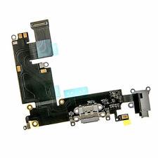 For iPhone 6 Plus Charging Dock Port & Mic Headphone Jack Flex Cable Part Grey