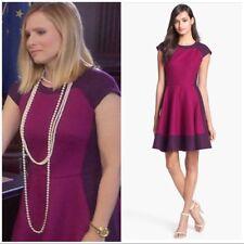 Ted Baker Linkah block flare dress gorgeous! US 2  $325