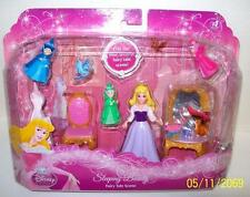 Disney Sleeping Beauty Fairy Tale Scene Polly Pocket Doll with Godmothers NEW