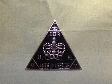 007 James Bond, License To Kill, MI6 British Intelligence Badge, Solid Metal