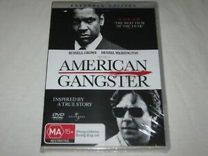 American Gangster - Extended Edition - Brand New & Sealed - Region 4 - DVD