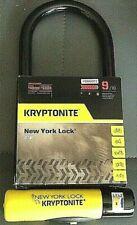 "Kryptonite bicycle motorcycle Scooter LS/MC  New York 4"" x 10.25"" 16 mm bar"