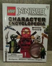 LEGO NINJAGO Character Encyclopedia (2012, Hardcover Book) No Minifigure