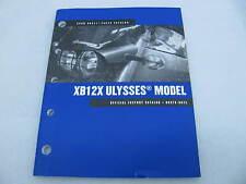 2008 Harley Davidson Buell XB12X Ulysses Parts Catalog Manual Book 99575-08YA