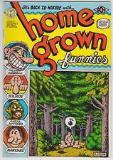Home Grown Funnies #1 VF 8.0 Robert Crumb Art Kitchen Sink Second Print 1971!