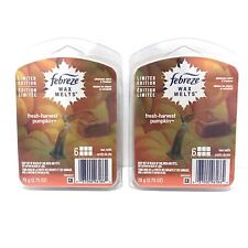 Febreze Wax Melts FRESH HARVEST PUMPKIN Limited Edition New 2 Count