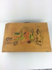 Vtg Cosby Stills Nash Young Folk Art Wood Sign Cover Art Joni Mitchell J Rogers