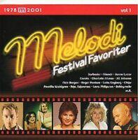 CD Melodifestivalen,Melodifestivalfavoriter Eurovision,Hits Schweden Sweden