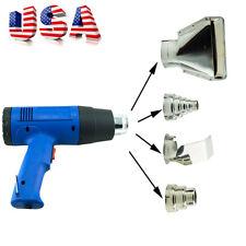 Pro Heat Gun Hot Air Gun Dual Temperature+4 Nozzles Power Tool 1500 W Heater Gun