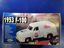 1953 Ford Truck F-100 Pepsi Cola Delivery Van Limited edition 1/18 Scale