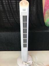 Easy Home White Multi-Speed Tower Fan Model ST-01M