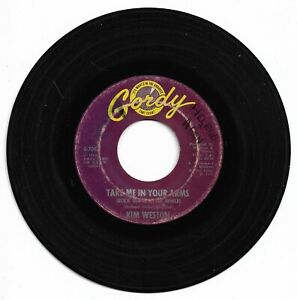 KIM WESTON - TAKE ME IN YOUR ARMS - GORDY - VG- CONDITION.