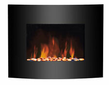 Metal Wall-Hung Electric Fire Fireplaces