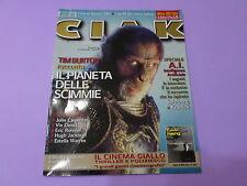 CIAK n.9 del 2001 CON SCHEDE FILM Tim Burton IL PIANETA DELLE SCIMMIE