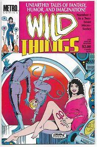 Wild Things #1 Metro Comics John Workman VFN / NM