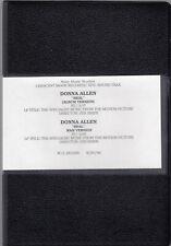 DONNA ALLEN-REAL (ALBUM+R&B VERSION)/1994 U-MATIC SINGLE PROMO MUSIC VIDEOS +DVD