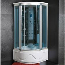 Cabina Idromassaggio 105x105 Box doccia ozonoterapia Vasca Sauna Bagno Turco |1