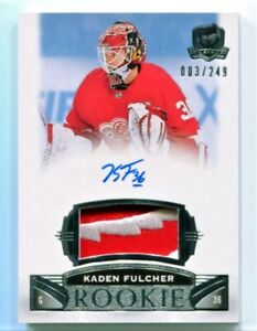 2019-20 The Cup #88 Kaden Fulcher ROOKIE PATCH AUTO /249 - Detroit Red Wings RC