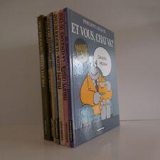 Philippe GELUCK Casterman 8 bandes dessinées 1986 2003