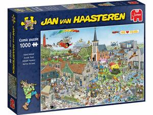 Jumbo 1000 Piece Jigsaw Puzzle - Jan Van Haasteren: Island Retreat