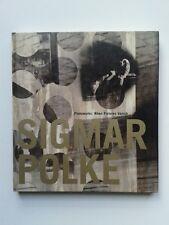 """ Sigmar POLKE : Photoworks "" Catalogue Los Angeles Art Contemporay Museum, 1995"