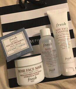 Fresh Skincare 4 pcs Set  - Brand New