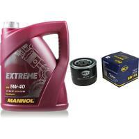 Ölwechsel Set 5L MANNOL Extreme 5W-40 + SCT Ölfilter Service KIT 10164183