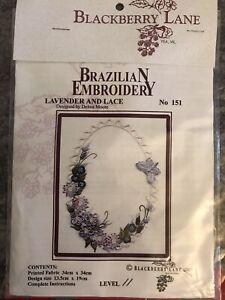Vintage unused  BlackBerry Lane. To Be Embroidered