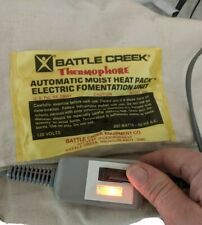 Heat Pad Battle Creek Thermophore Automatic Heat Pack Electric Fomentation 55