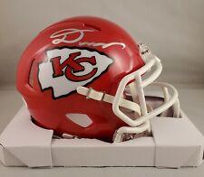 Damien Williams Autographed Signed Speed Mini Helmet Kansas City Chiefs JSA