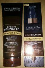 JOHN FRIEDA BRILLIANT BRUNETTE VISIBLY BRIGHTER IN SHOWER TREATMENT +Conditioner
