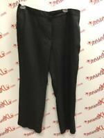 Talbots Black Linen Size 18W Pants