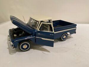 The Danbury Mint 1966 Chevrolet C-10 Pickup 1:24 Die Cast w Box & Paperwork