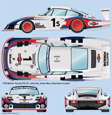 1978 Martini Porsche 935-78 Silverstone 1/24 scale water transfer decals/Tamiya