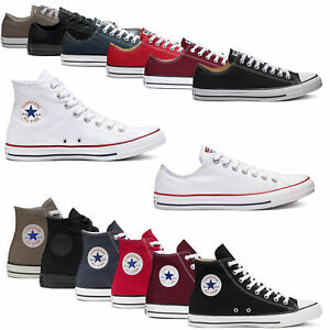 Converse Chuck Taylor All Star Hi Tops Lo Tops Ox Unisex Canvas Sneaker Trainers