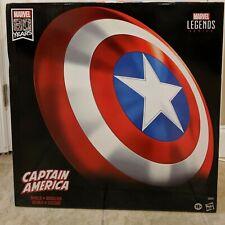 "Marvel Legends Captain America Shield 80th Anniversary Authentic 24"" Shield NIB"