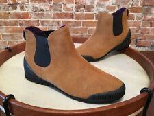 Cougar Exceed Oak Brown Suede Waterproof Chelsea Ankle Boots 10 NEW