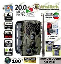 FOTOTRAPPOLA MIMETICA ANTENNA - VIDEOCAMERA SPIA MMS -EMAIL- 20MP FULL HD