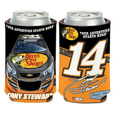 Tony Stewart Can Cooler 12 oz. Coozie NASCAR Bass Pro Shops 2013