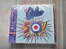 THE WHO - HITS 50 ; Japanese-only 2 x SHM-CD Edition ; New & Sealed