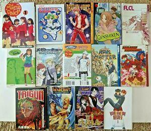 Lot of 14 Manga Anime Books Graphic Novels - Variety Volume 1 - English